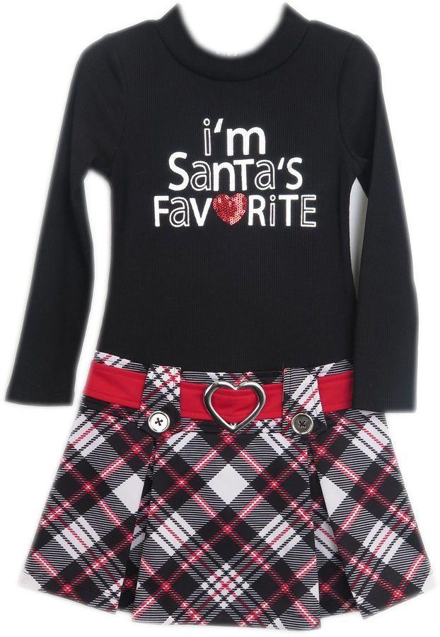 6dd8895834d5 LILT Lilt Long Sleeve Drop Waist Dress - Preschool Girls | Products ...