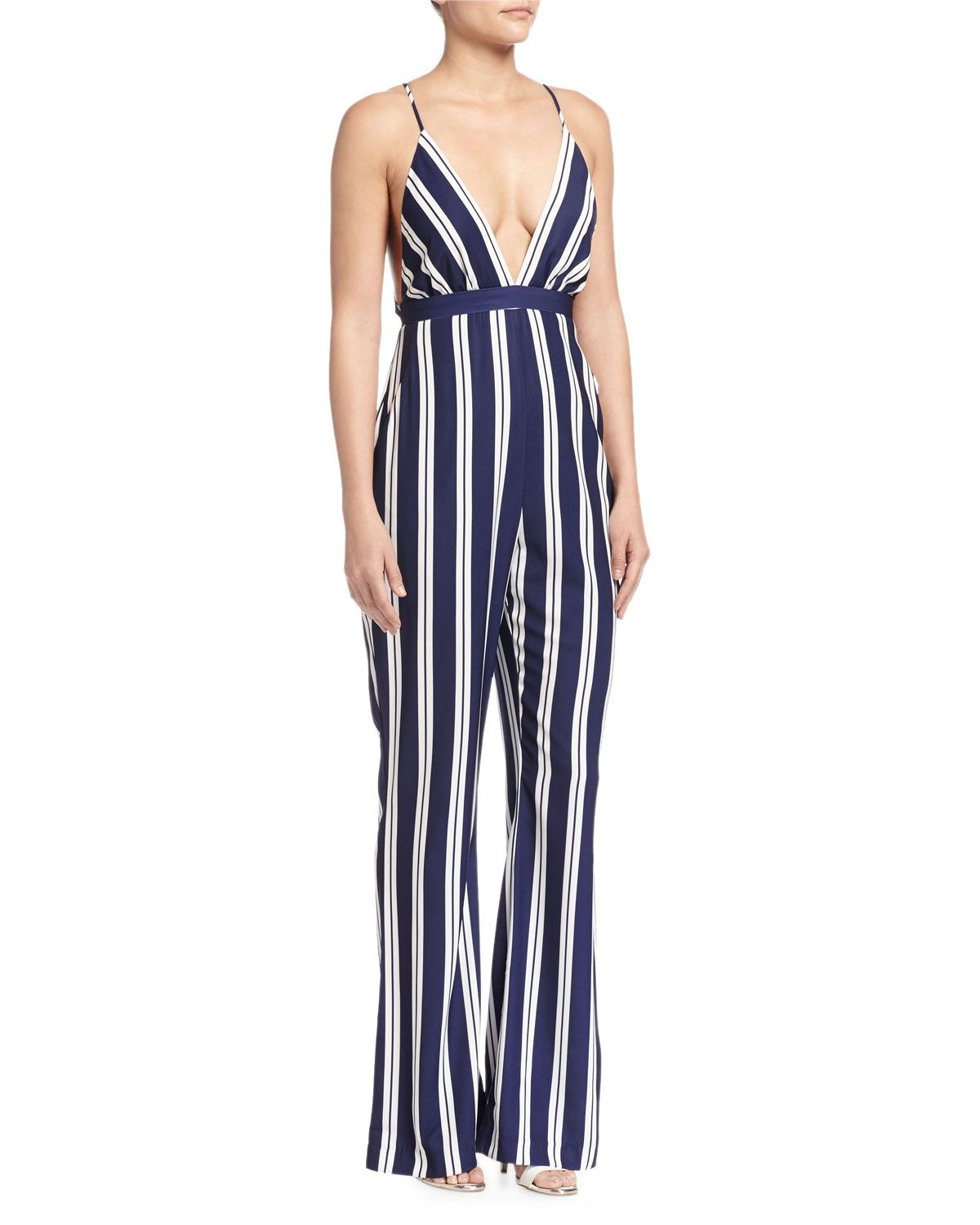 df9699857e9 The Jetset Diaries Plunging V-Neck Jumpsuit