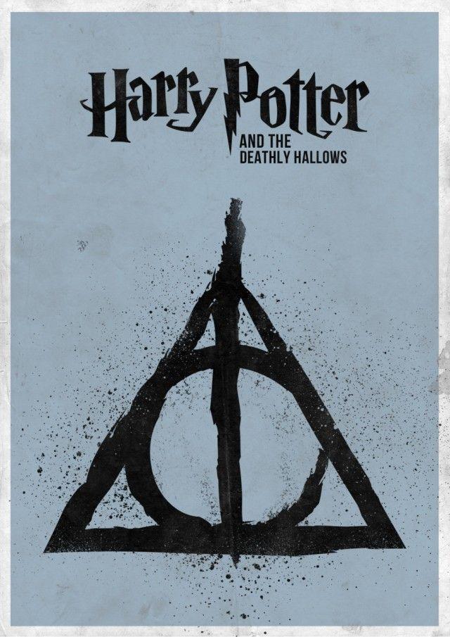 7 Minimal Harry Potter Film Posters Harry Potter Pinterest