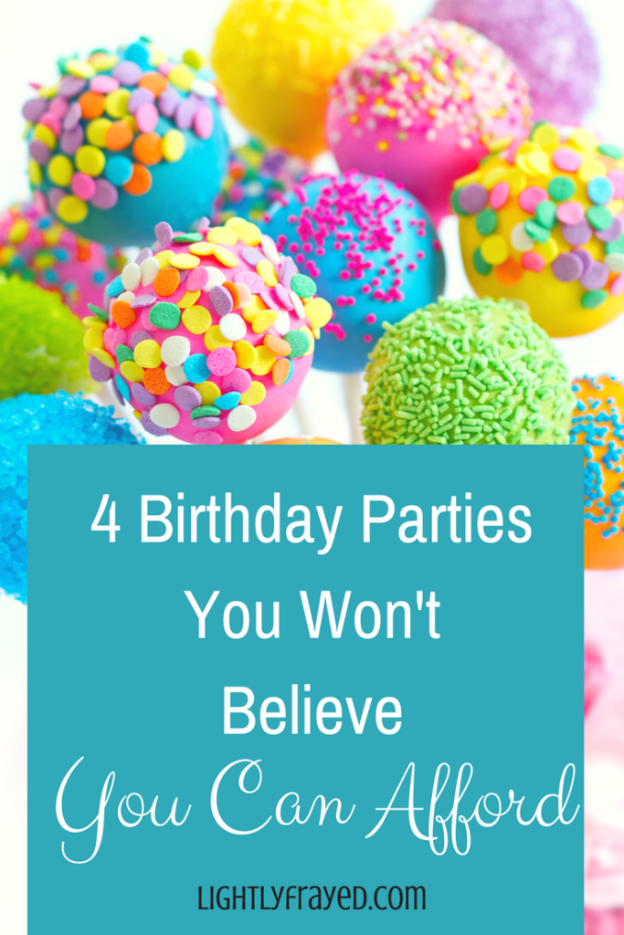 affordable birthday parties