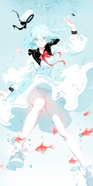 Aquarius 水瓶座 By Moss Art Illustration Manga Anime Character