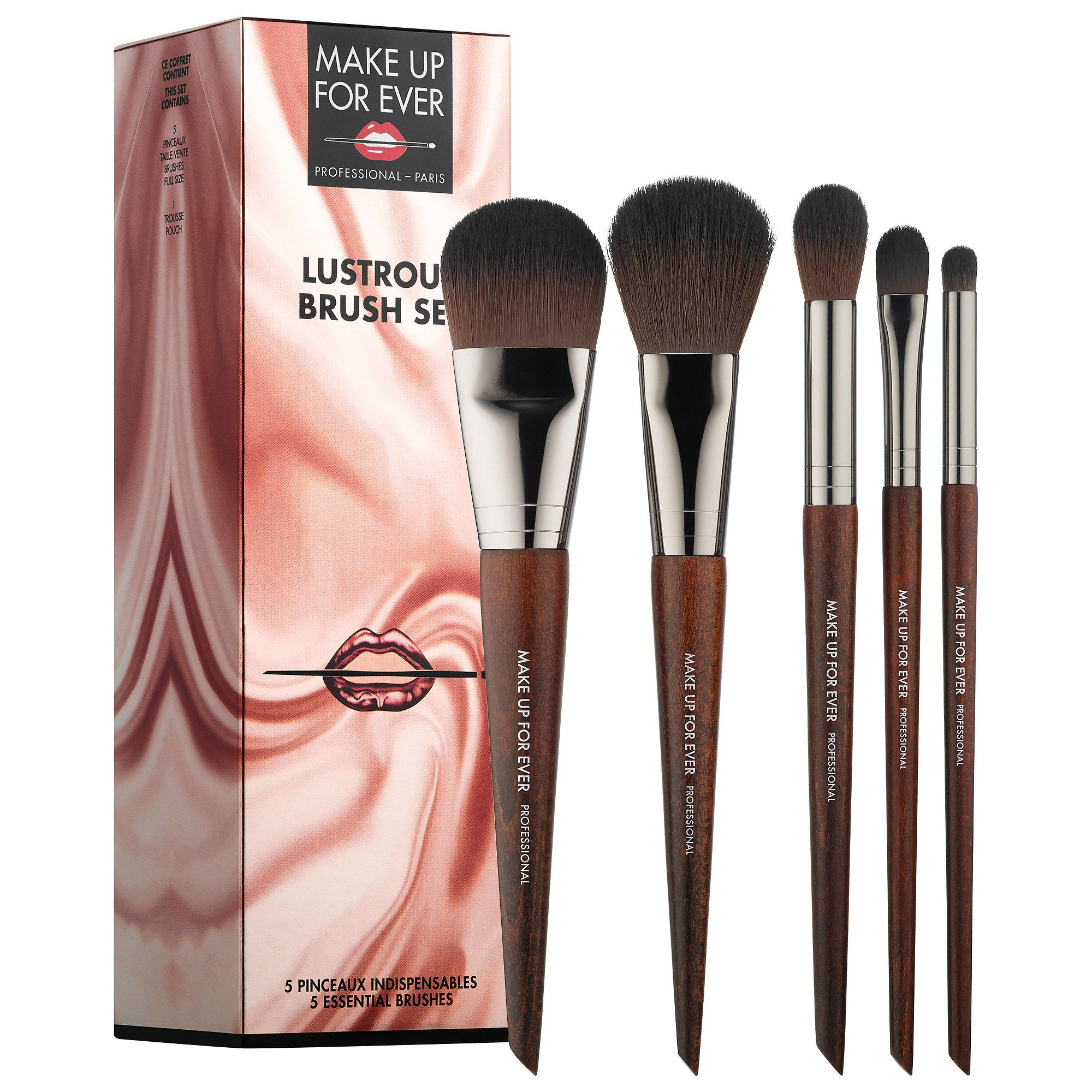 Lustrous Brush Set MAKE UP FOR EVER Sephora Sephora