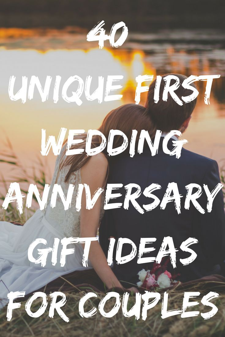 Best 1st Wedding Anniversary Gifts Ideas 40 Unique Paper Presents For The First Year 2020 Includes Gifts For Husband Or Wife In 2020 1st Wedding Anniversary Gift For Him Marriage Anniversary