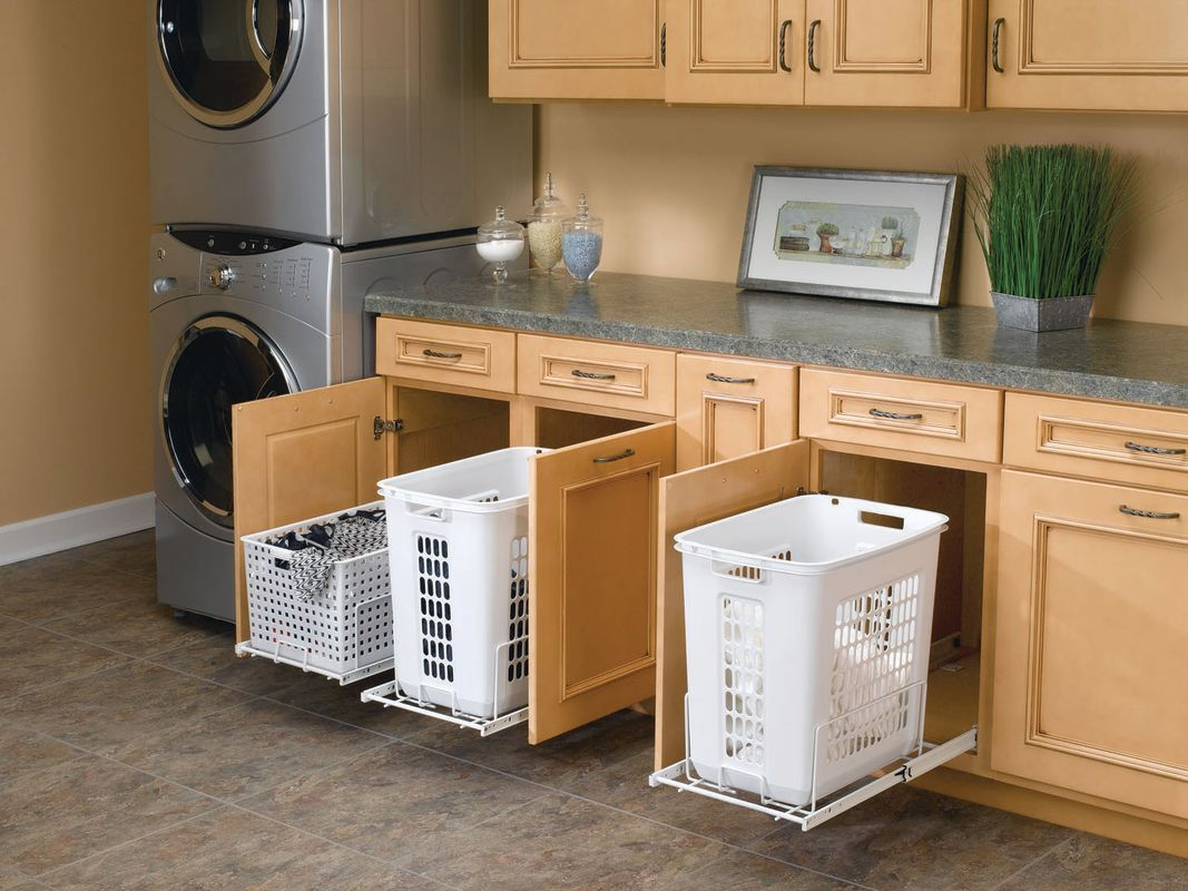 Rev-A-Shelf HPRV-1520 S | Rev a shelf, Laundry room design ...