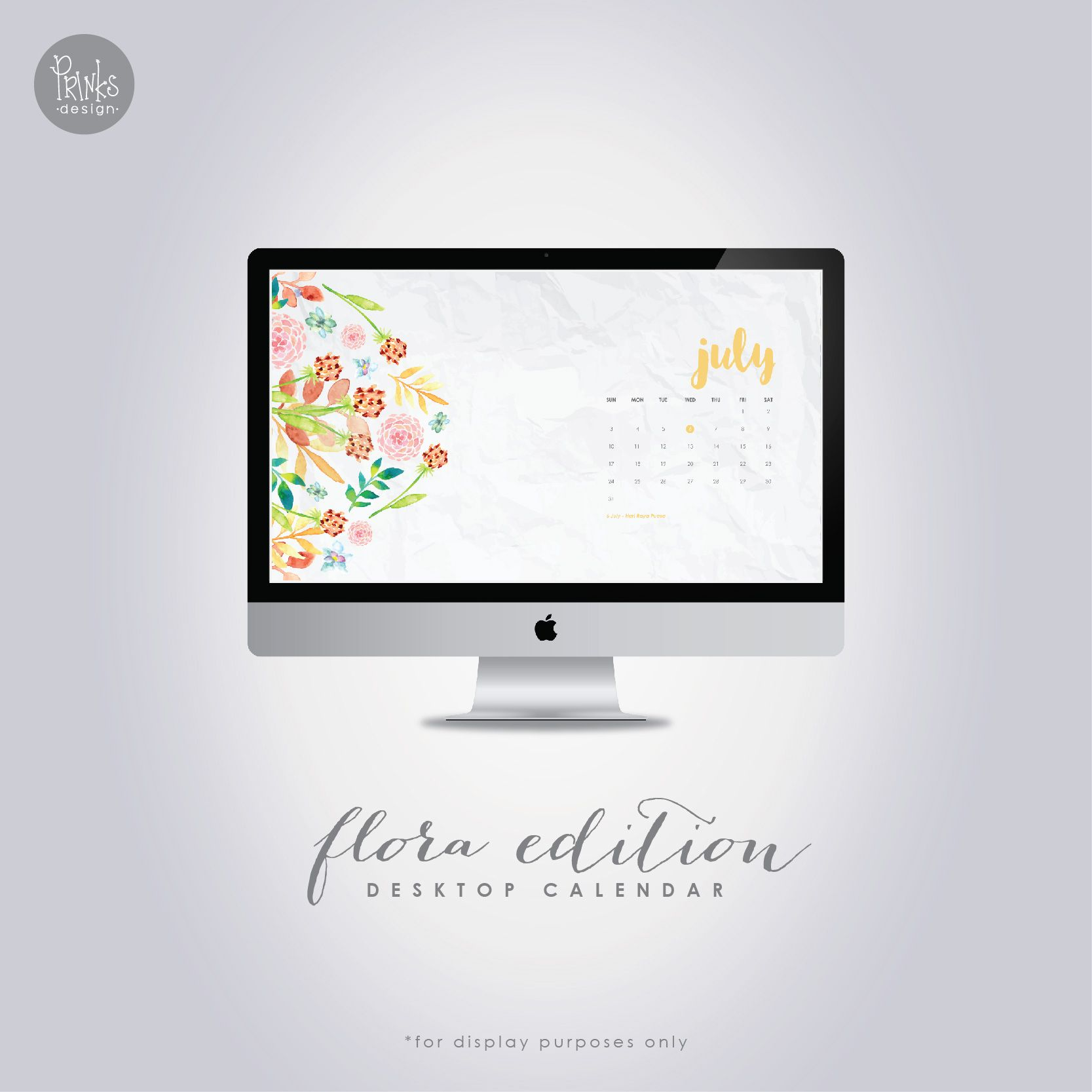 Calendar Wallpaper Originals : July desktop calendar pinterest