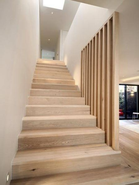 Oak staircase #staircaserailings