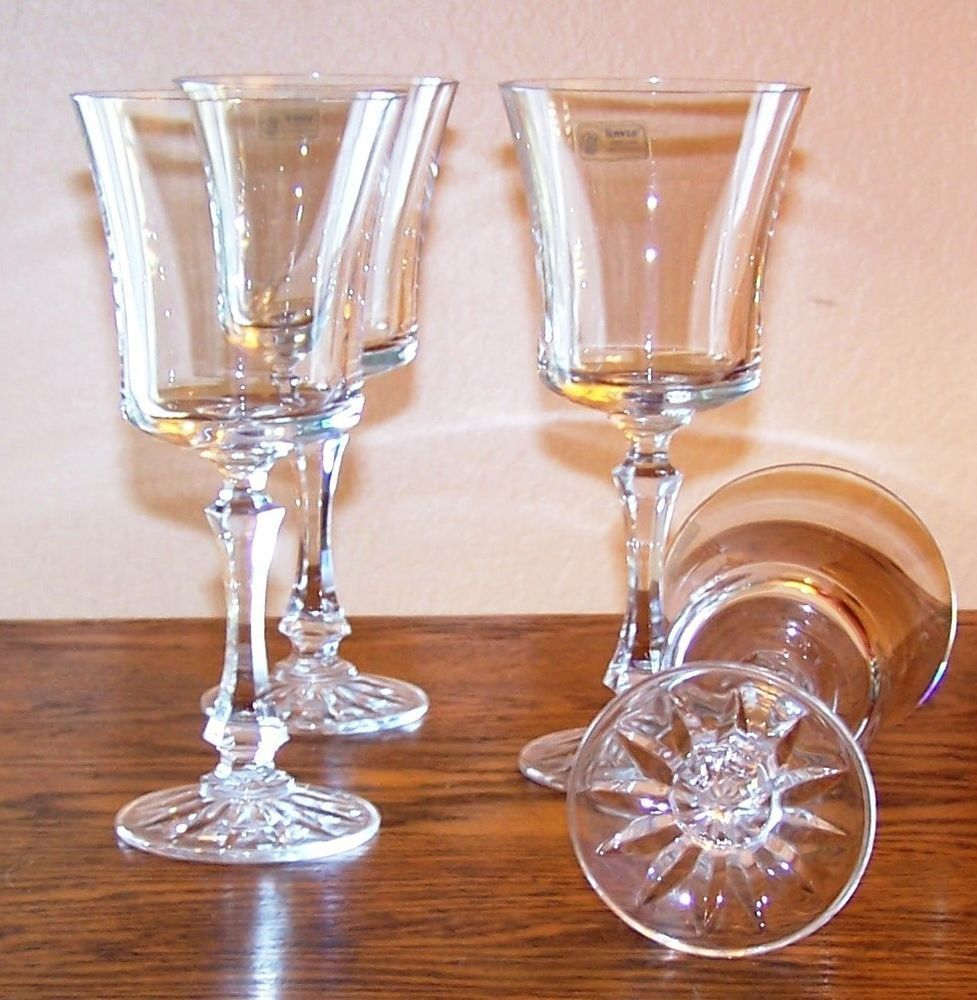 Towle crystal wine glass set of four windham early 80s towle towle crystal wine glass set of four windham early 80s towle floridaeventfo Image collections