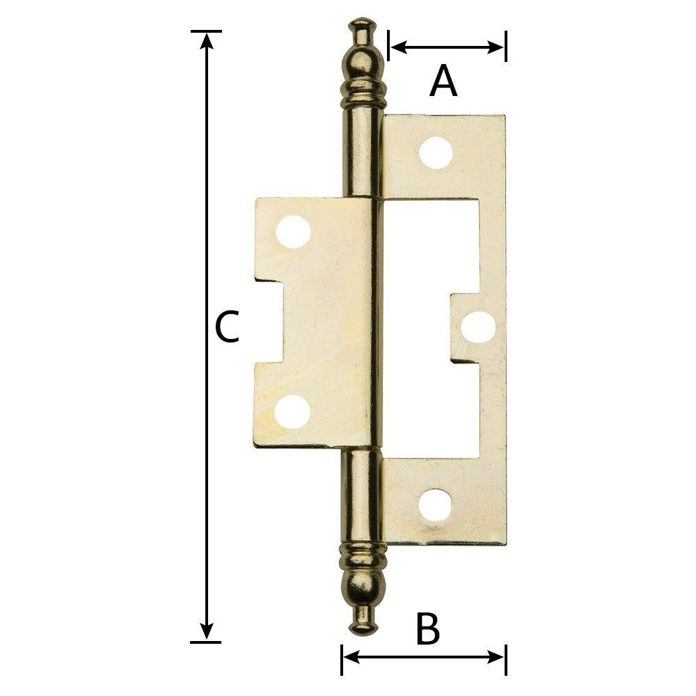 Non Mortise Hinges With Finial Finials Mortising Hinges