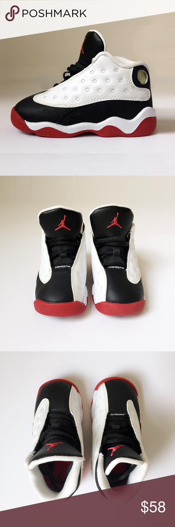 competitive price 5f23d 8b219 NIKE AIR JORDAN retro 13 he got game shoes kids 7C NIKE AIR ...