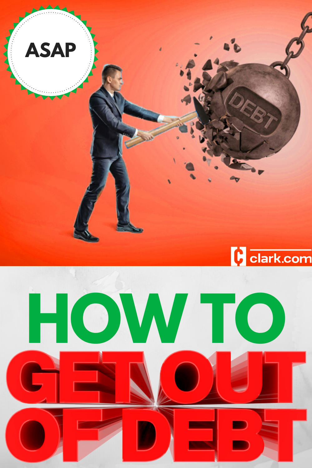 How To Get Out Of Debt The Fastest Way