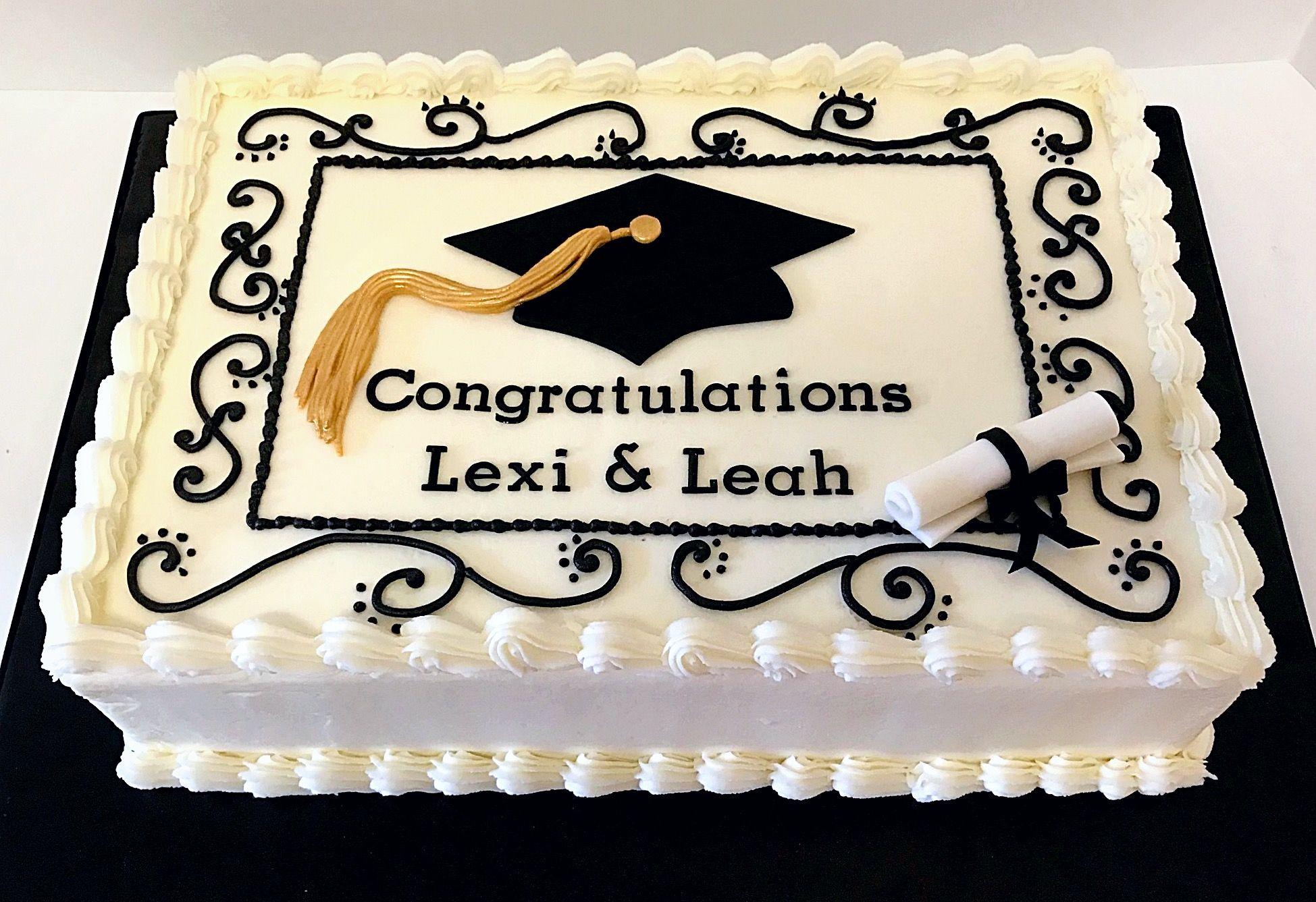 Simple Graduation Cake Graduation Party Cake Simple Graduation