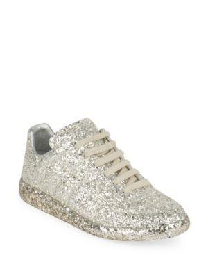 maison margiela sparkle sneakers