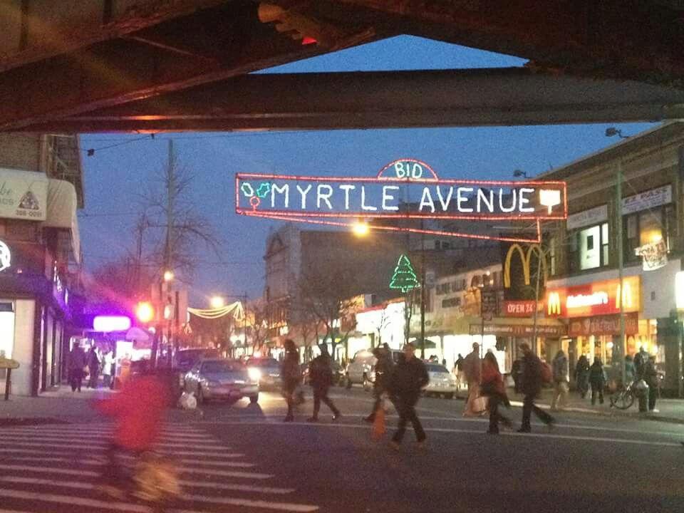 Myrtle Avenue, Ridgewood, NY Ridgewood queens, Queens