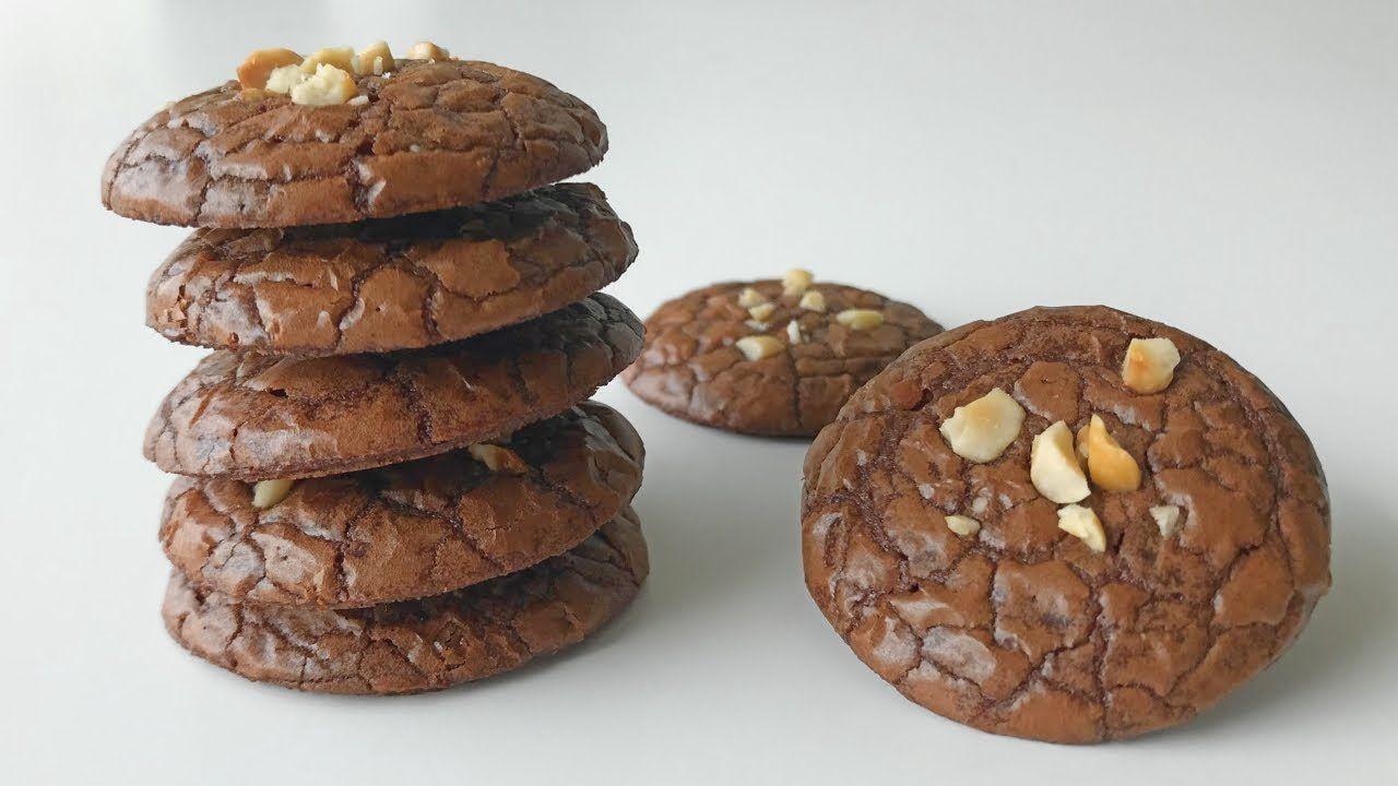Brownies Cookies Recipe Resepi Biskut Raya Brownies Cookie Recipes Brownie Cookies Cookie Brownie Recipe