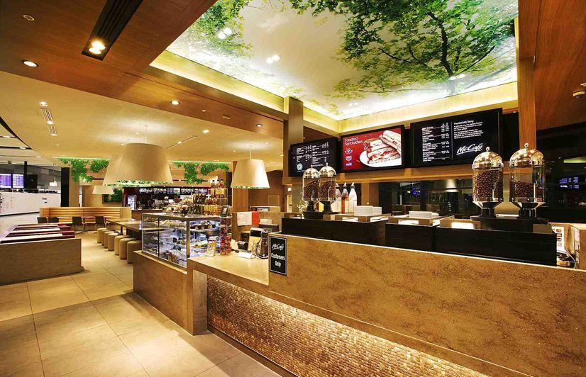 Interior Design: McDonald's Sydney Airport, Airside   Cafe   Bakery    Pinterest   Mcdonalds sydney and Sydney