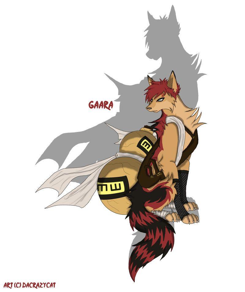 naru gaara | Naruto: Gaara Wolf form by ~ dacrazycat | Naruto ...