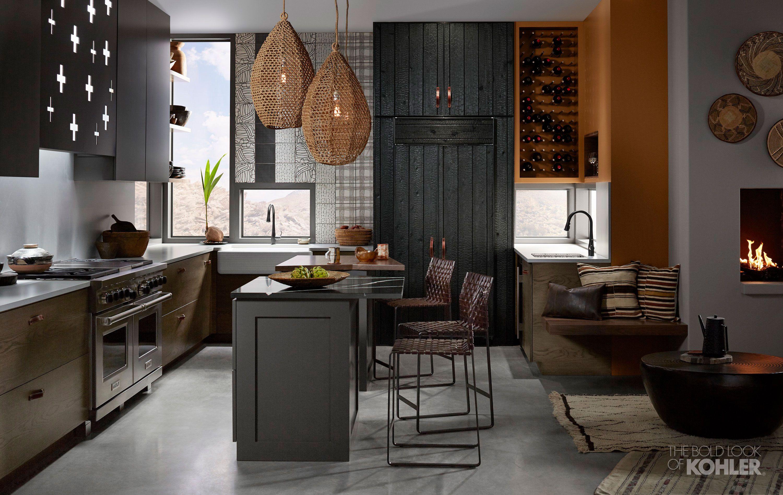 Tribal Instincts Kitchen Kohler Ideas Kitchen Cabinet Kings