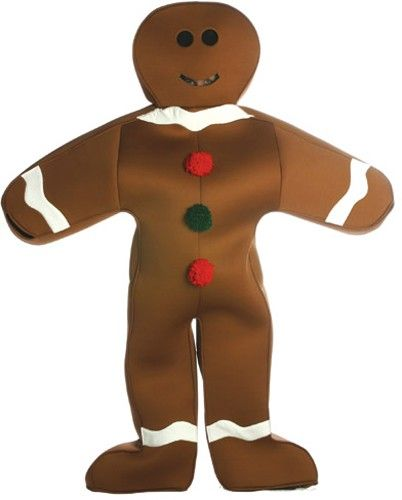 Gingerbread costume Christmas Mood Pinterest Gingerbread man - halloween costumes ideas for men