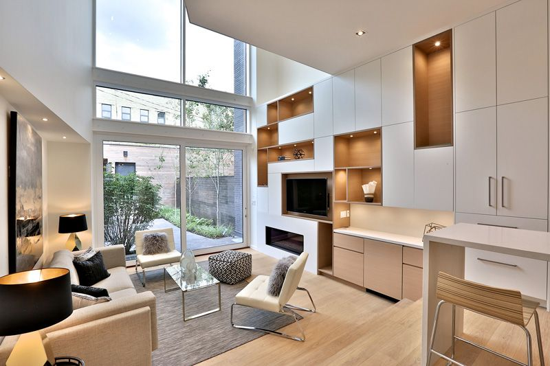 Relmar Houses Unique Modern Complex in Toronto Canada Toronto