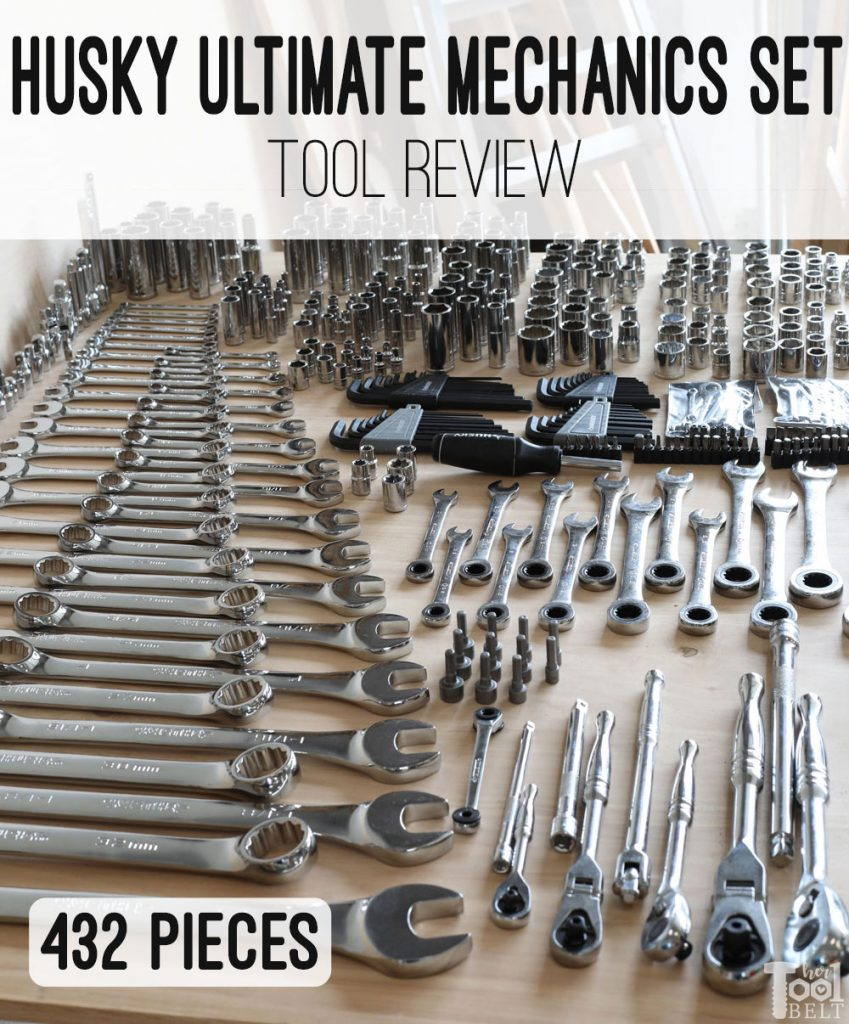 Husky Ultimate Mechanics Set Mechanics Tool Set Mechanic Tools Tools