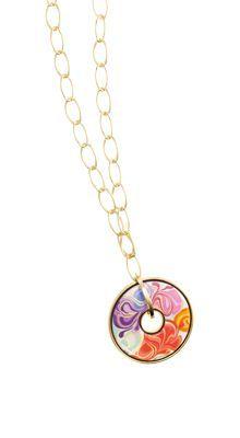 Pendentif #FloralSymphony de Frey Wille, délicatesse des fleurs et or 18 carats. || #FreyWille's Floral Symphony pendant, refinement of flowers and 18 karats gold. #bijoux #jewelry #fashion