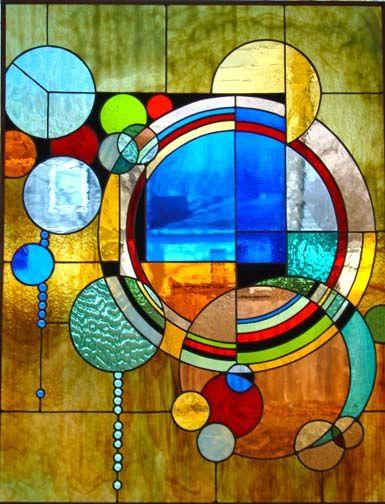 Modern Glass Mosaic Art