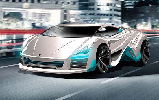 Lamborghini Rompighiaccio Ev Concept Designer Denis Archambault