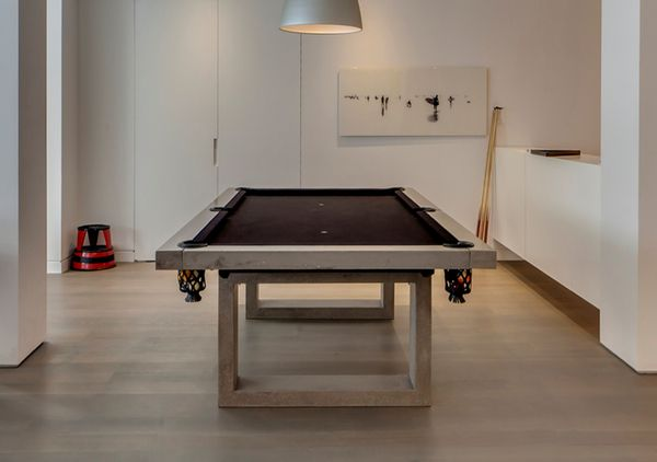 Design Daily James Dewulf Concrete Pool Table