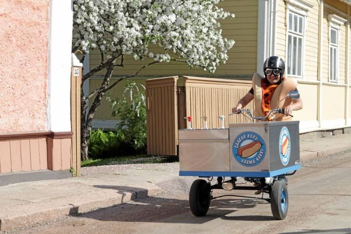 Varma nakki on loviisalainen versio street food -tarjonnasta | Uusimaa