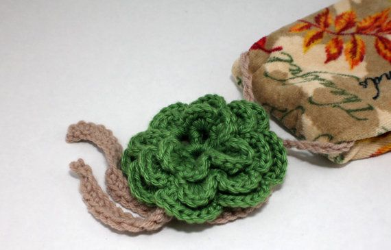 Crochet rose towel holder and towel topper  by WowWeeCreations