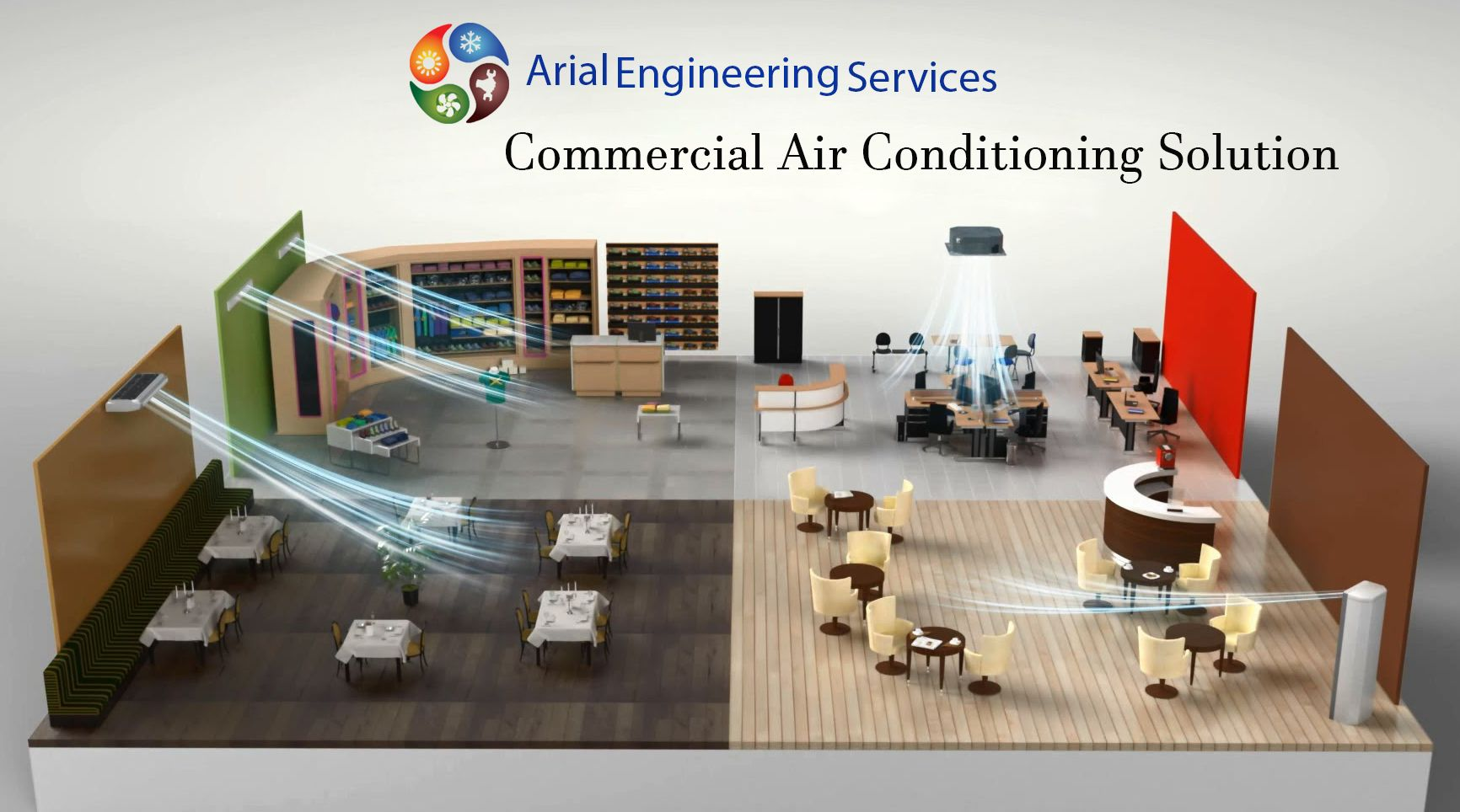 We Offer complete air conditioning solutions for your
