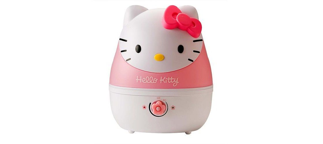 Crane Adorable Hello Kitty Ultrasonic Cool Mist Humidifier 1gal
