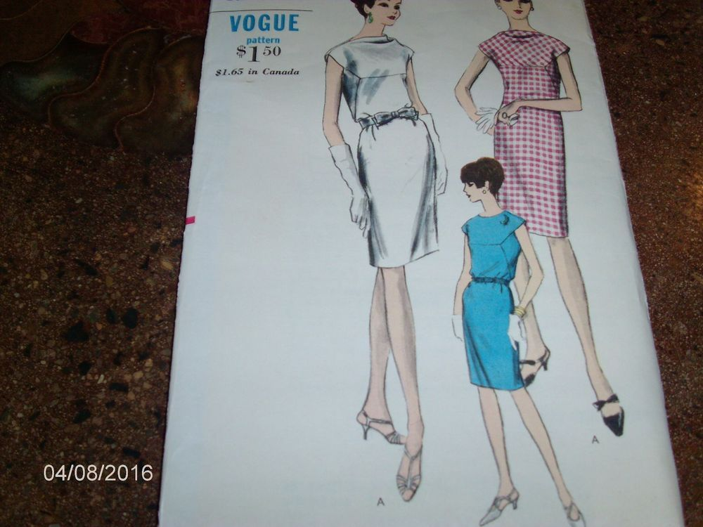 VTG Sewing Pattern - VOGUE #6785 - Size 16 Bust 36 Hip 38 - Cut and Complete