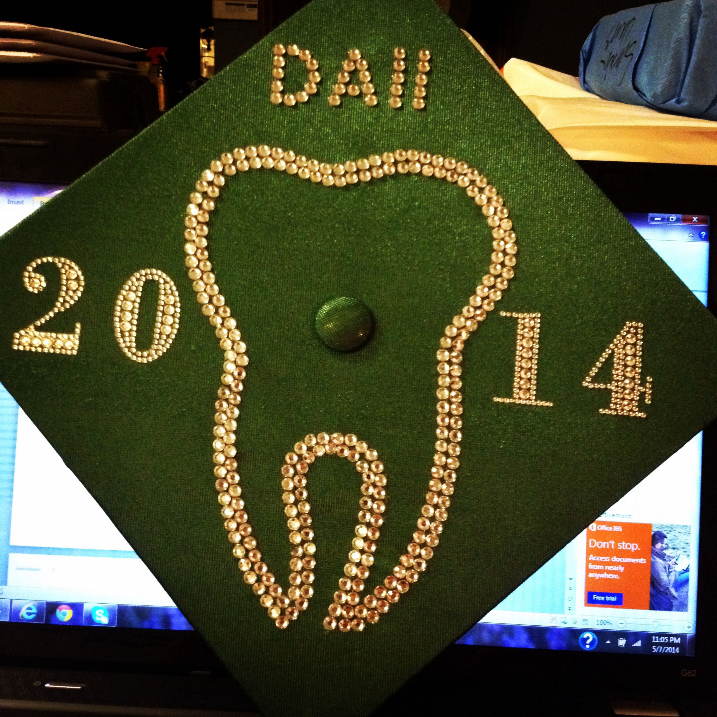 dental assistant ii graduation cap decoration craft ideas dental assistant ii graduation cap decoration