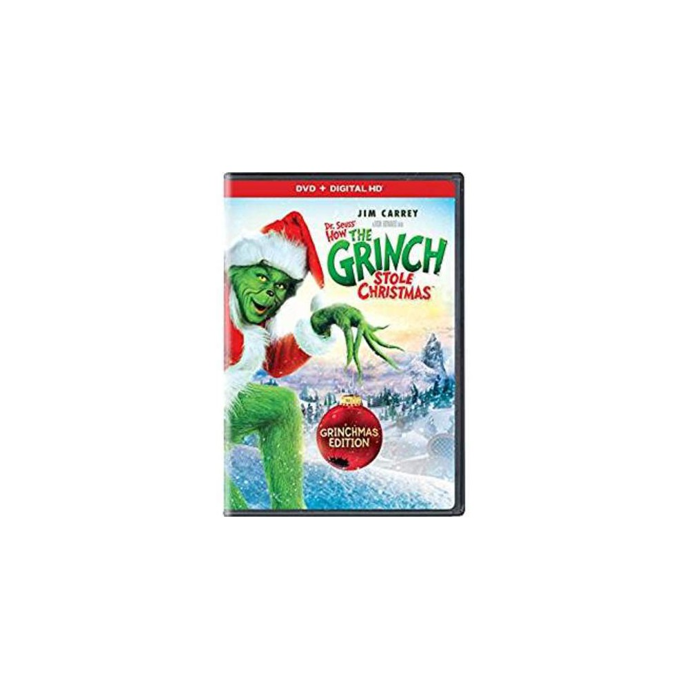 Dr. Seuss\' How the Grinch Stole Christmas (Dvd) | Grinch stole ...