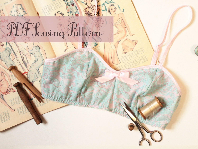 Bra Sewing Pattern Ohhh Lulu 1304 Jasmine Soft Bra Multi-size ...