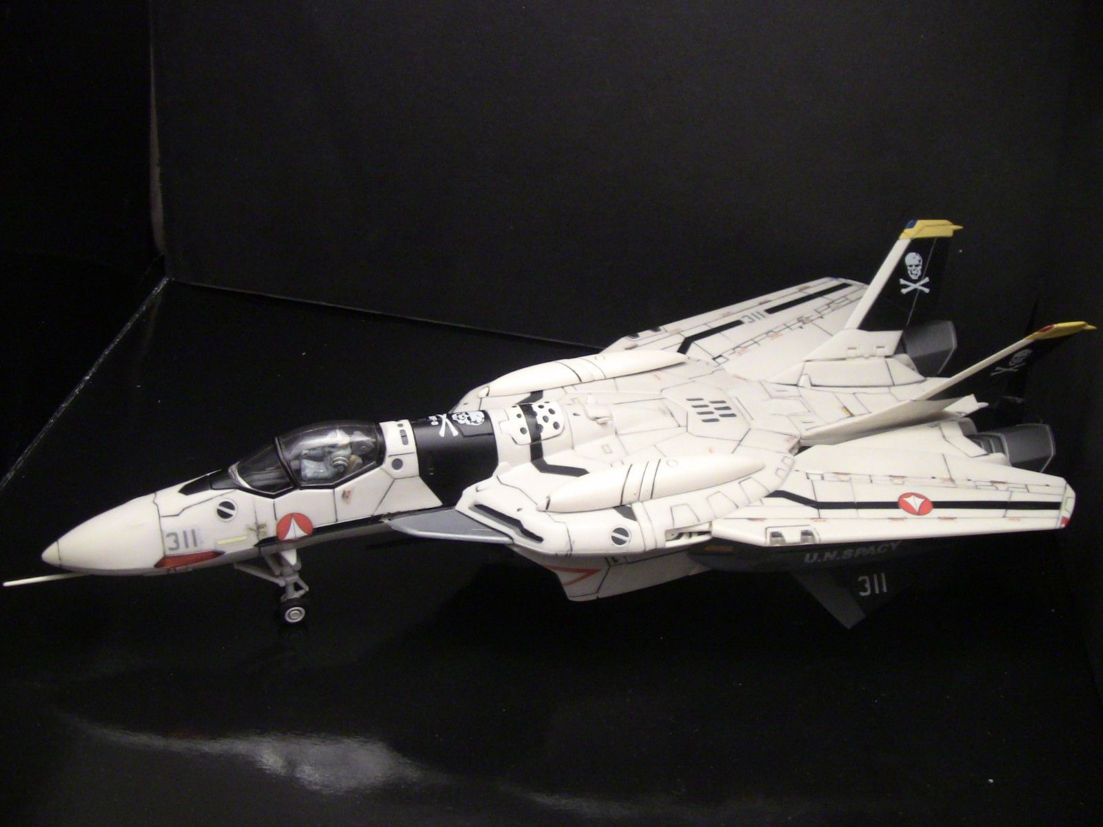Custom 1 60 Macross Zero Yamato VF 0A Skull Squadron Unknown Soldier