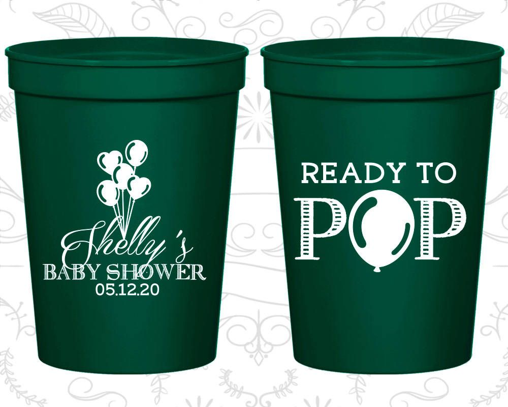 4785ceb4bd0 Oh My Deer Baby Shower, Personalized Baby Shower Stadium Cups, Deer Baby  Shower Cups, Christmas Baby Shower Cups, Baby Shower Favors (90051)