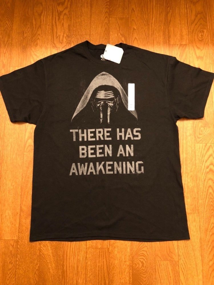 049bb175 Mens Star Wars There Has Been An Awakening T-Shirt XL. - Star Wars ...