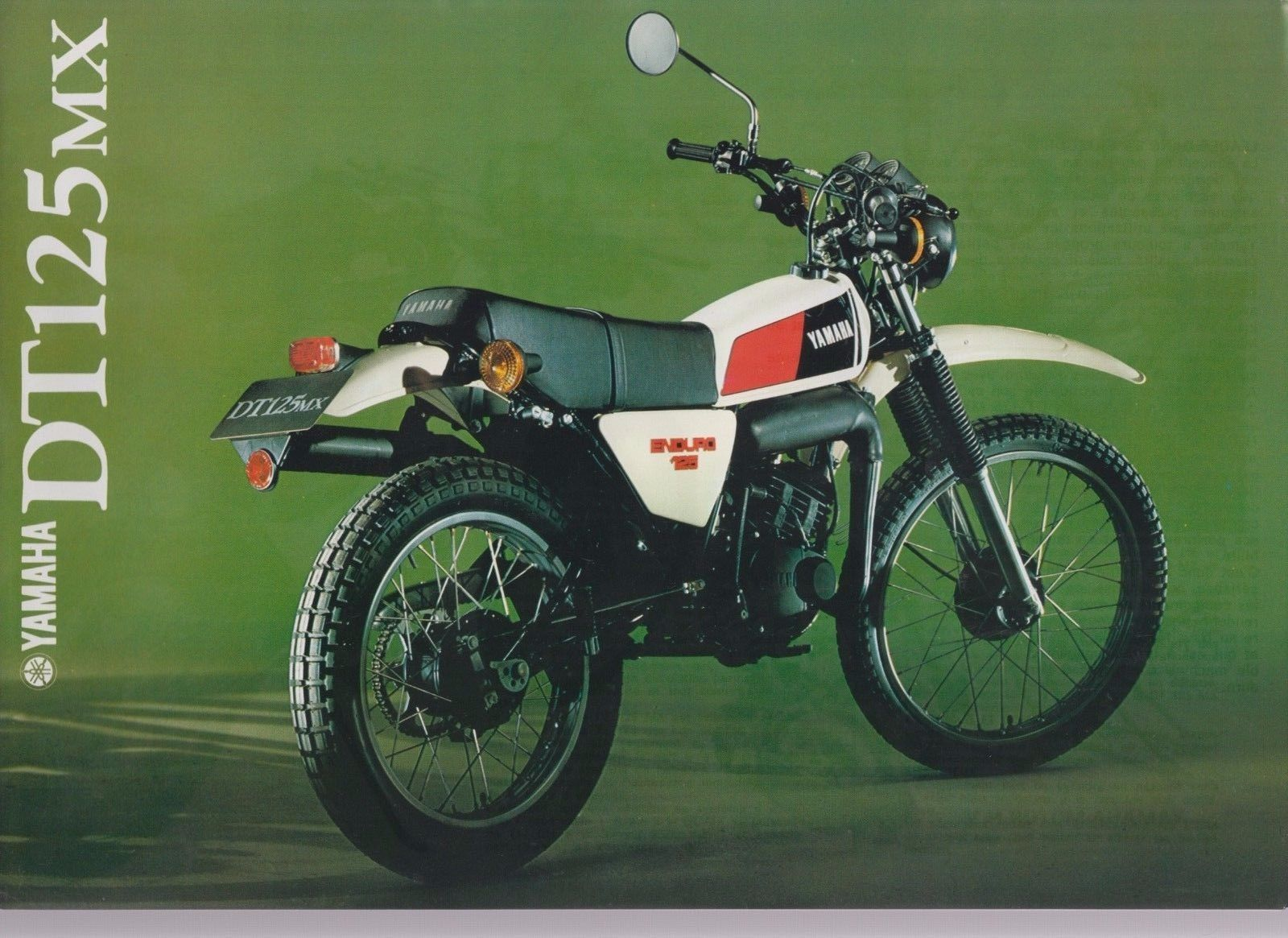 Yamaha Dt 125 Mx Motorcycle Brochure Ebay Motorcycle
