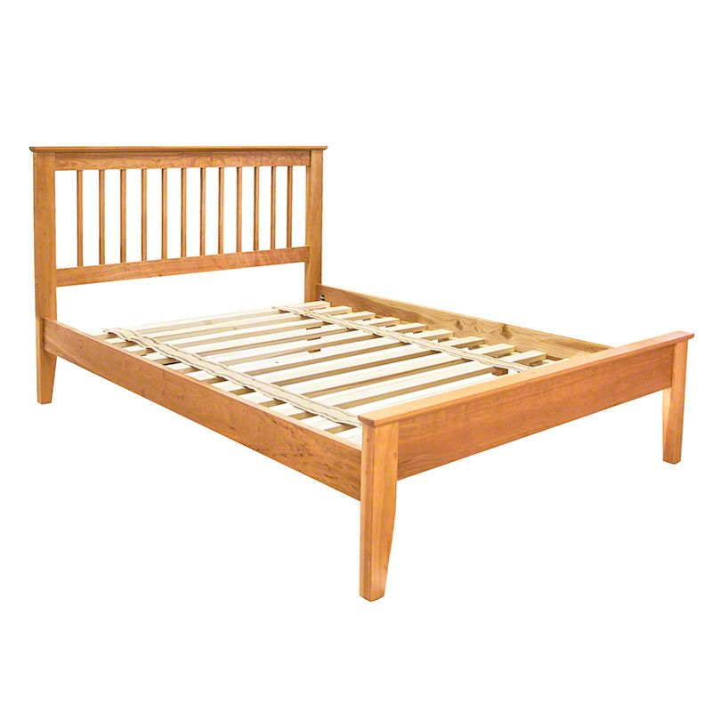 Solid Wood Mission Style Bed | High Quality Cherry Furniture | Made In  Vermont