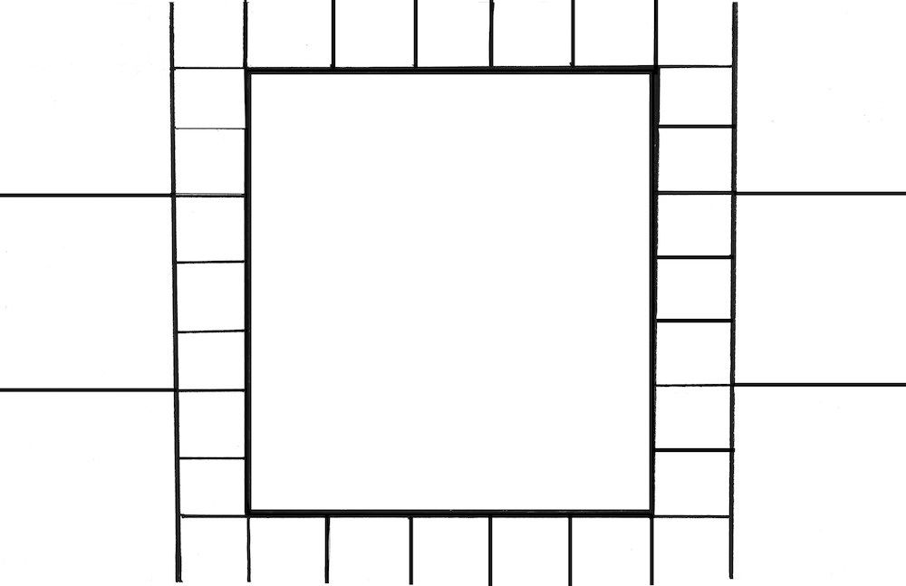 Free Printable Faith Ringgold Inspired Quilt Template