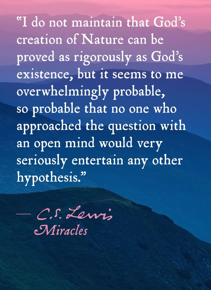 From Miracles By C S Lewis Cs Lewis Quotes Cs Lewis Quotes