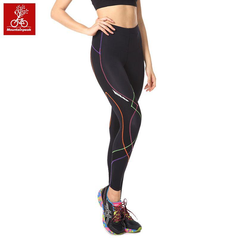 New Design Women Running Pants Yoga Capri Pants Fitness Leggings Jogging Tights Compression 3/4 Trousers Size S-XXL