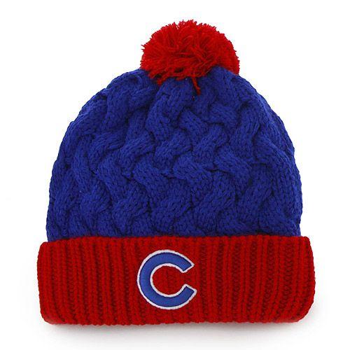 355361ef8dc Chicago Cubs Women s Royal Matterhorn Knit Cap by  47