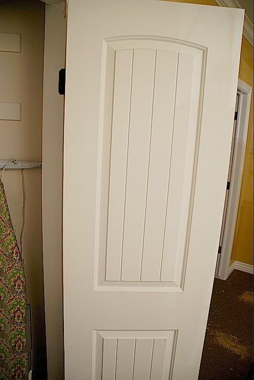 How To Replace Sliding Closet Doors With Standard Tutorial