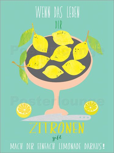 Leinwandbild Canvas Wandbilder Kunstdruck für die Küche Teekanne Tee mit Zitrone
