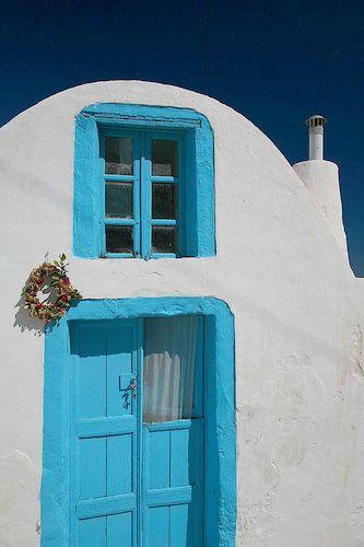 thirasia greece - thirasia house