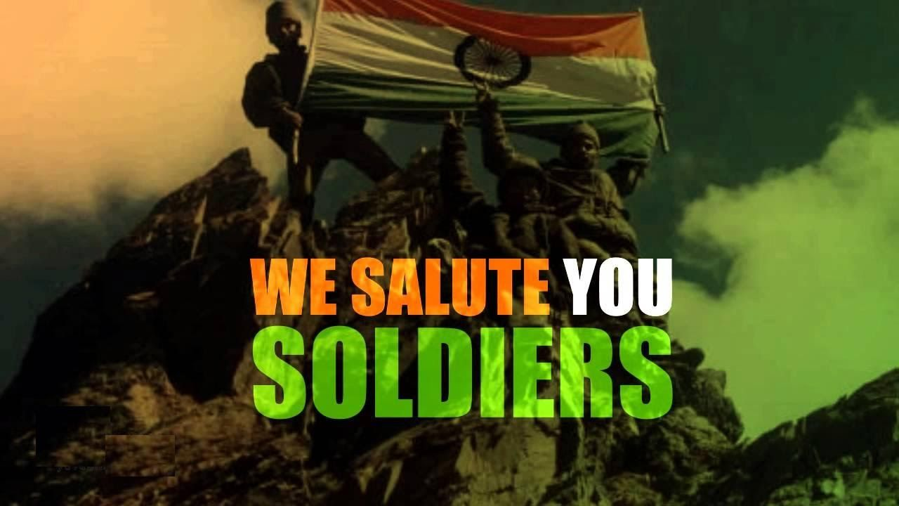 Proud To Soldier Images With Tiranga Salute To You Indian Army