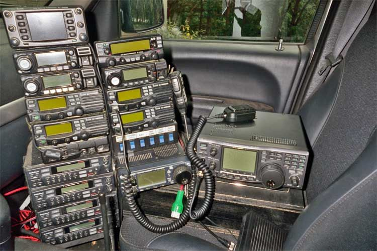 How Not To Install A Ham Radio